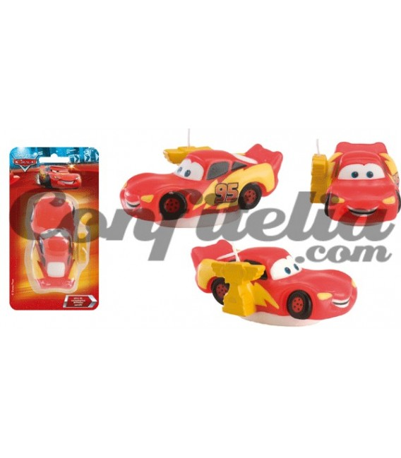 Birthday candle Cars