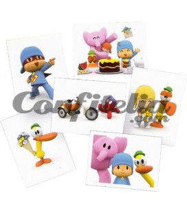 Pocoyo World stcikers collection