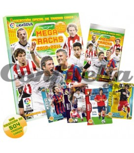 Panini Mega Cracks 2010-2011 trading cards launch pack