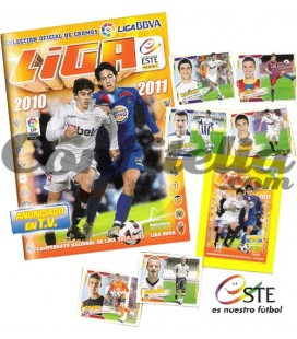 BBVA League 2010-2011 launch pack