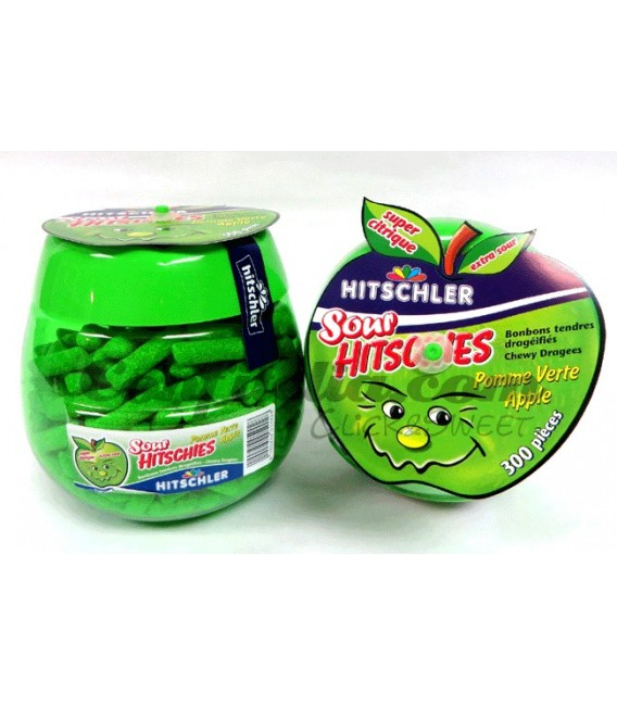 Hitschies green apple candy