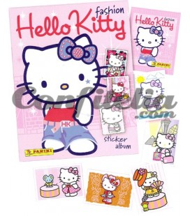 Pack lanzamiento Hello Kitty Fashion Panini
