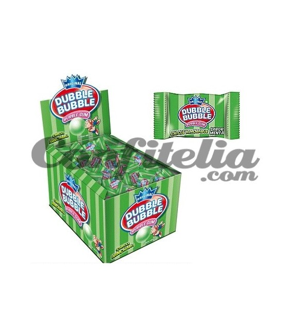 Chicle Dubble Bubble menta