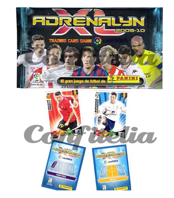 Adrenalyn Panini trading cards