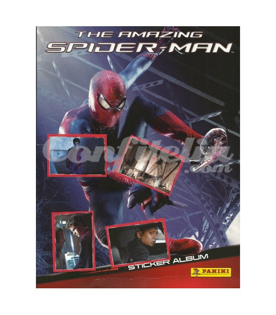 The Amazing Spider-man stickers collection of Panini