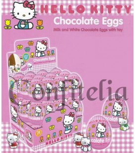 Huevos de chocolate con sorpresa Hello Kitty