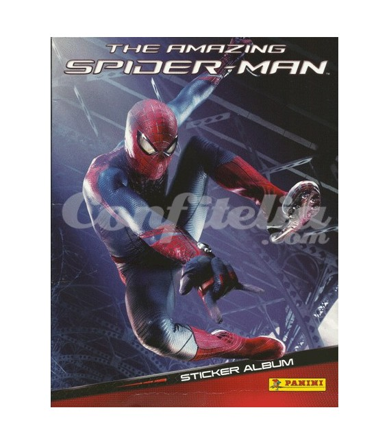 The amazing Spider-man stickers collection launch pack