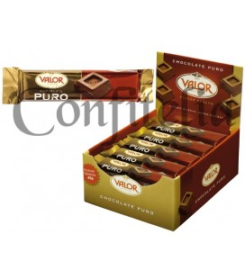 Pure chocolate Valor 45 grs.