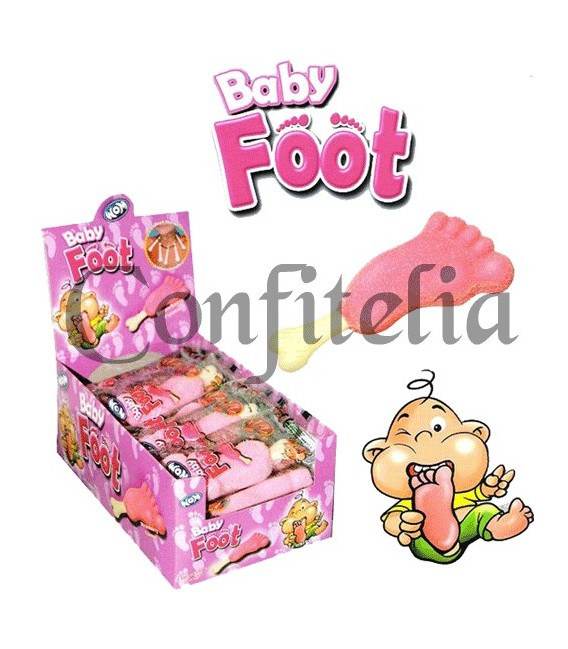 Gominolas Baby Foot fresa