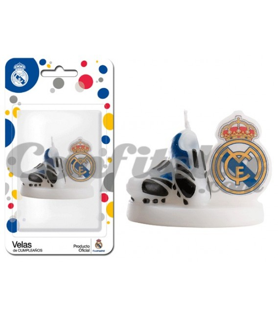 Real Madrid birthday candle boots