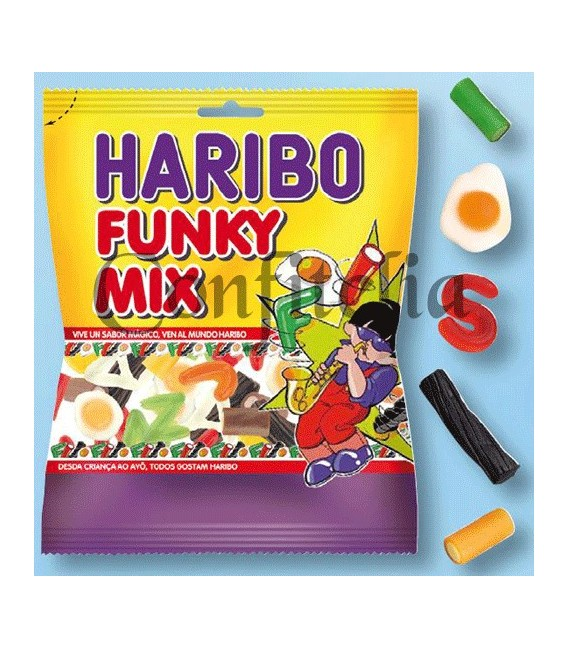 Gummy jellies Funky Mix Haribo