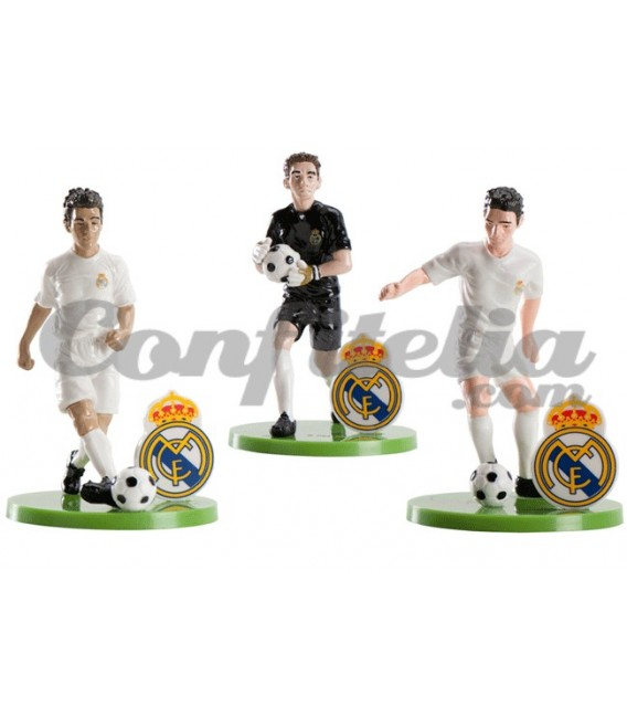 Pack de figuras Real Madrid