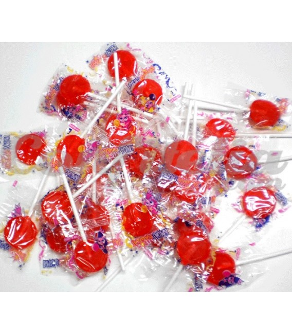 Candy lollipops round