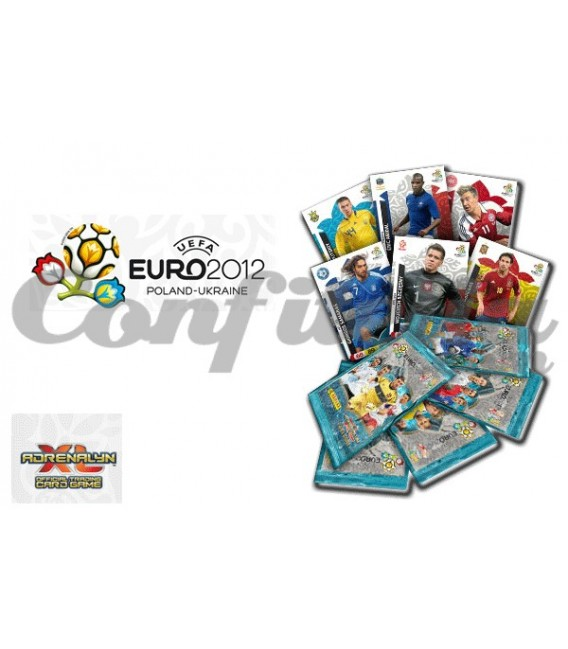 Adrenalyn XL Euro 2012 trading cards