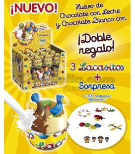 Huevos de chocolate Lacasitos