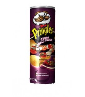 Pringles Texas BBQ 165 grams