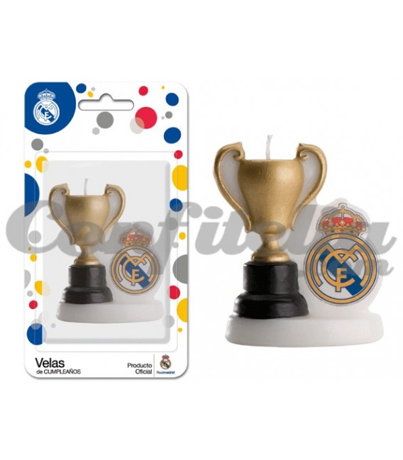 Real Madrid Cup candle